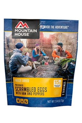 Mountain House Scrambled Eggs with Ham & Peppers - 1