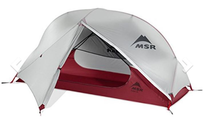 MSR Hubba Hubba NX hiking and camping tent