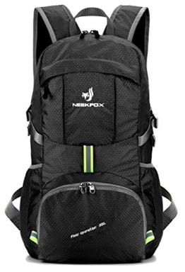NEEKFOX Lightweight Packable Travel Hiking Backpack Daypack,35L Foldable Camping Backpack,Ultralight Outdoor Sport Backpack - 1