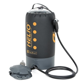 Nemo Helio Portable Pressure Shower with Foot Pump, Sunset - 1