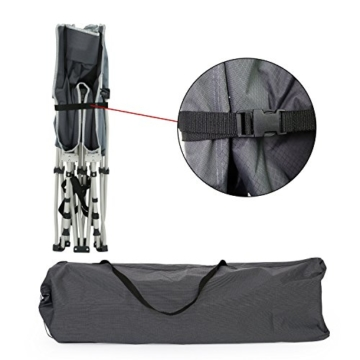Niceway Oxford Portable Folding Bed with Storage Bag,Perfect for Base Camping and Hunting(CR0136) - 3