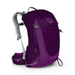 Osprey Packs Sirrus 24 Women's Backpack, Ruska Purple, o/s, One Size - 1
