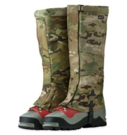 Outdoor Research Expedition Crocodile Gaiters Multicam USA Made