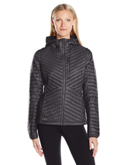 Outdoor Research Women's Verismo Hooded Down Jacket, Black, Large - 1