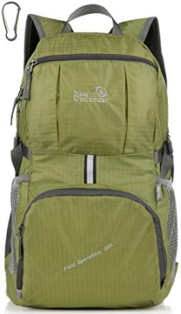 Outlander Packable Lightweight Travel Hiking Backpack Daypack Green - 1