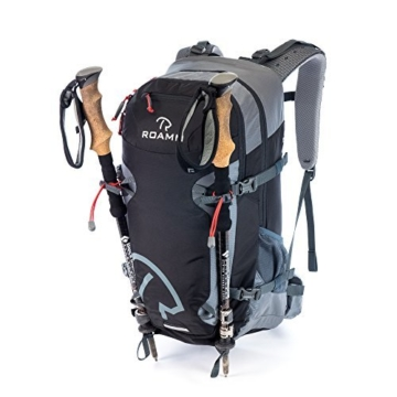 Roamm Highline 30 Backpack - 30L Liter Internal Frame Daypack - Best Bag for Camping, Hiking, Backpacking, and Travel - Men and Women - 2