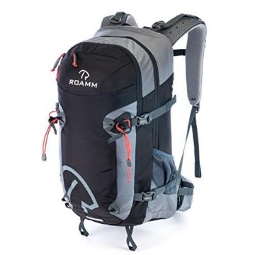 Roamm Highline 30 Backpack - 30L Liter Internal Frame Daypack - Best Bag for Camping, Hiking, Backpacking, and Travel - Men and Women - 1