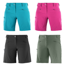 Salomon Wayfarer Shorts Womens Hiking Pants Shorts short Functional Pants New