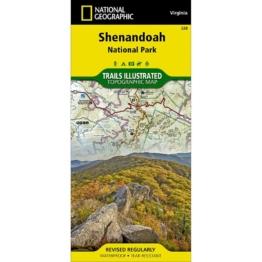 Shenandoah National Park Trail Map (#228)