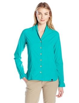 SHERPA ADVENTURE GEAR Women's Minzi Long Sleeve Shirt, Yuu Blue, Medium - 1