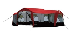 Tahoe Gear Carson 3 Season 14 Person Large 25 x 17.5 Ft Family Cabin Tent, Red - 1