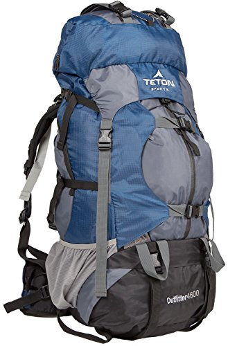 TETON Sports Outfitter 4600 Ultralight Internal Frame Backpack – Not Your Basic Backpack; High-Performance Backpack for Hiking, Camping, Travel, and Outdoor Activities; Sewn-In Rain Cover - 2
