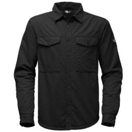 THE NORTH FACE Mens 2018 HIKE-IN SHERPA SHIRT TNF Black