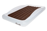 The Shrunks Toddler Travel Bed Portable Inflatable Air Mattress Bed for Travel, Camp or Home Use, Kids Size with Security Rails 60 x 37 x 9 inches - - 1