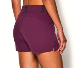 "UNDER ARMOUR ArmourVent Hiking 3.5"" Shorts Beet Maroon NEW Womens Sz 4"