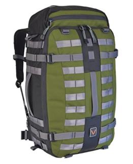 Venture Luggage Jet Trekker 40 Modular Backpack Men's, Green, Medium - 1