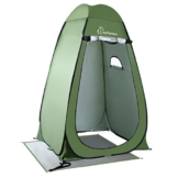 WolfWise Shower Tent Privacy Portable Camping Beach Toilet Pop Up Tents Changing Dressing Room Outdoor Backpack Shelter Green - 1